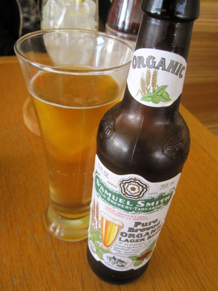 Organic beer from Yorkshire