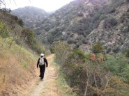 HIking into Fish Canyon