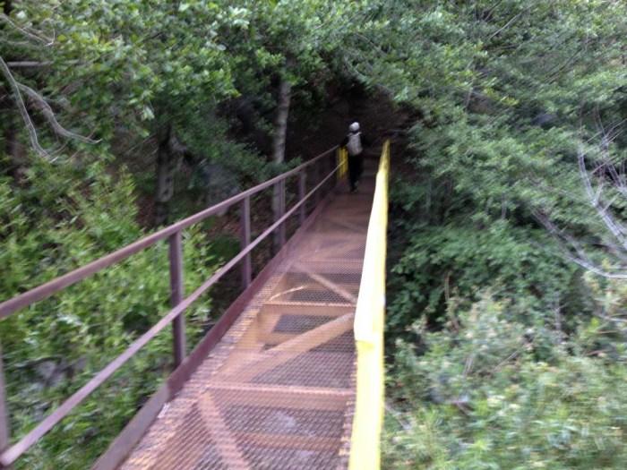 Bridge at the Fish Canyon trailhead