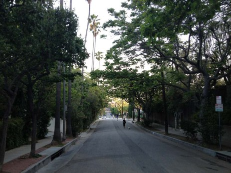 Plan to walk the street to reach Runyon