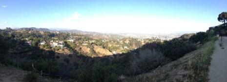 Runyon Canyon panorama