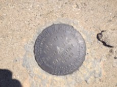 Mt Disappointment USGS benchmark