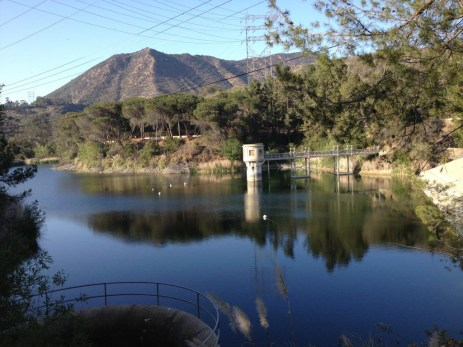 Another view of the Hollywood Reservoir