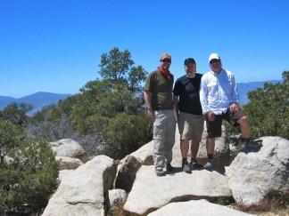 Jeff, Peter and Derek