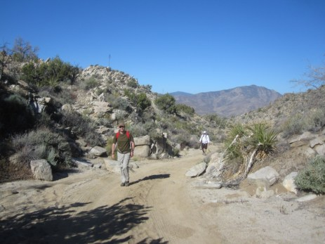 Let's take this spur to the trailhead