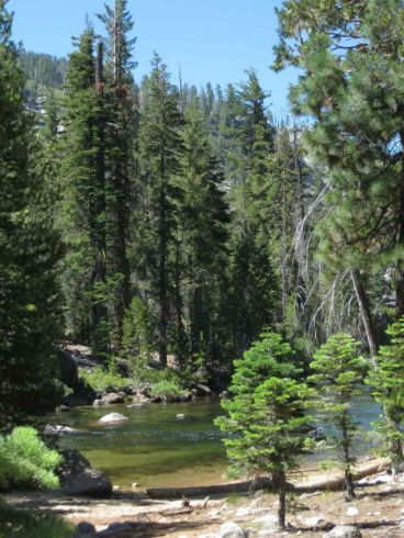 Headwaters of the Merced at Little Yosemite Valley