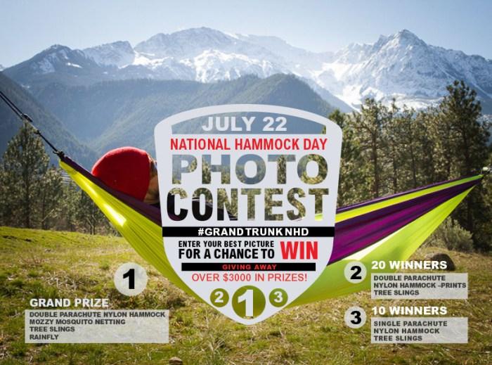 National Hammock Day photo contest