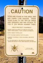 Caution Ticks