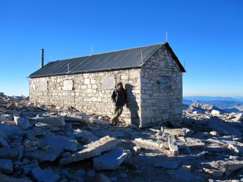 Jeff Hester atop Mt Whitney