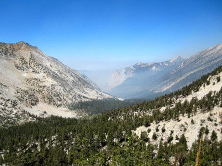 Smoke to the West of the JMT