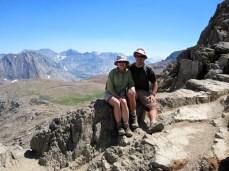 Joan and Jeff on Pinchot Pass