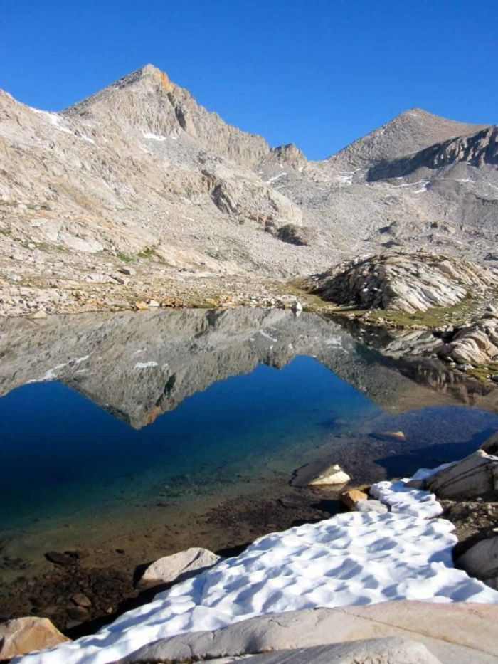 The Unnamed Lake we camped at
