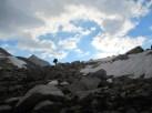 Joan on Muir Pass