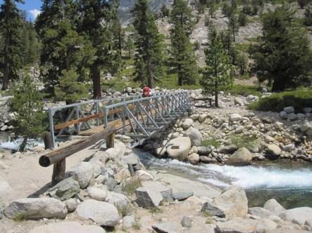Bridge to Kings Canyon National Park