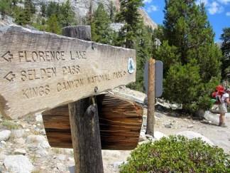 This way to Kings Canyon NP