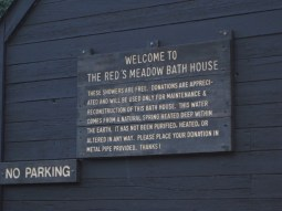 Red's Meadow Bath House