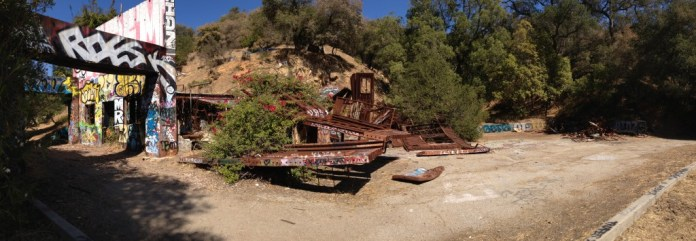 Nazi compound ruins in Pacific Palisades