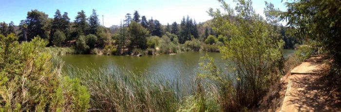 Franklin Canyon Reservoir Panorama