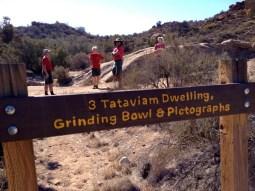 Sign for the Tatavium pictographs