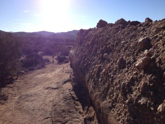 Behind Vasquez Rocks