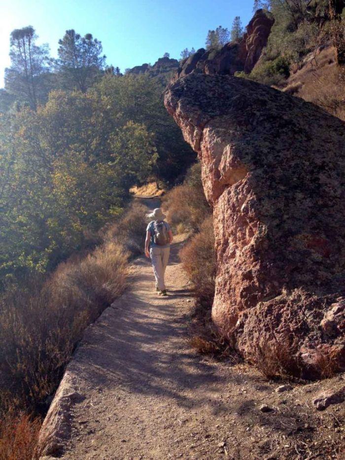Hiking in Pinnacles NP