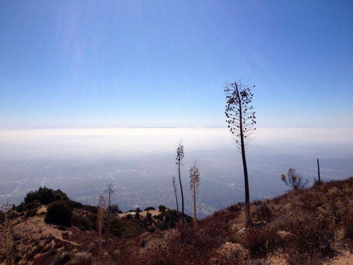 LA from Muir Peak