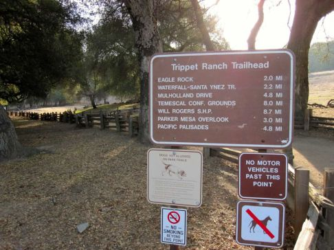 Trippet Ranch Trailhead