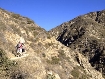 Above Santa Anita Canyon