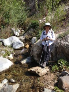 Joan a Trail Canyon Creek