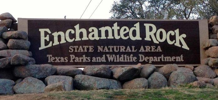 Enchanted Rock entrance