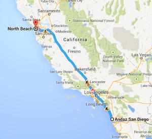 Road Trip Part Two: San Diego to San Francisco