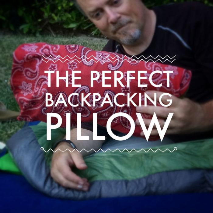 Buff - the Perfect Backpacking Pillow