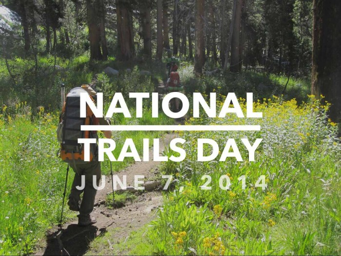 National Trails Day 2014