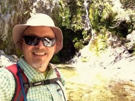 SoCalHiker at Cooper Canyon Falls