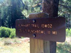 Burkhart Trailhead