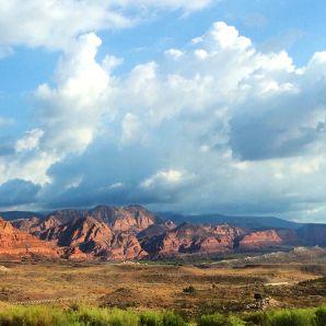 Typical roadside view in Utah. Ho hum.