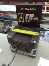 Goal Zero charging station