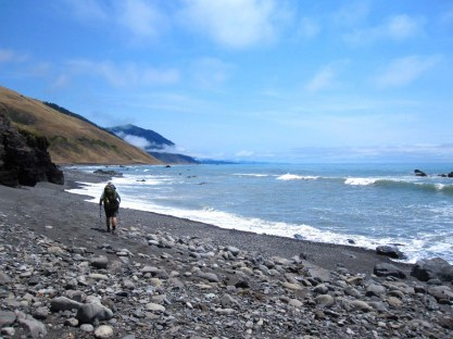 Low Tide on the Lost Coast Trail
