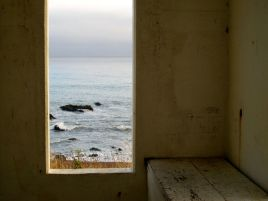 Window, Bench and View
