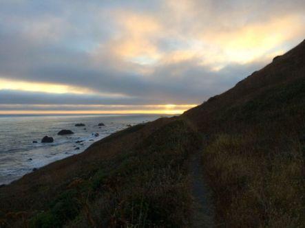 Sunset on the Lost Coast