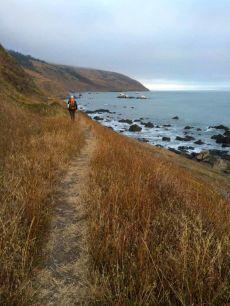Approaching Sea Lion gulch