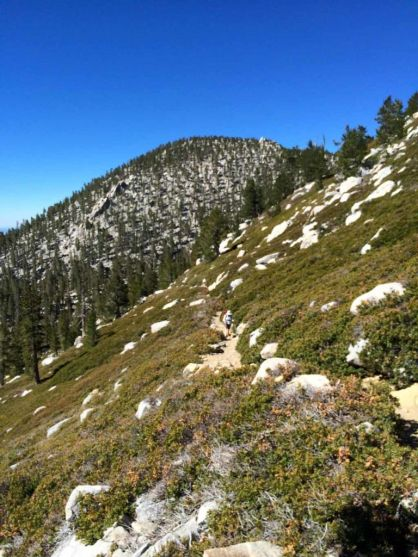 Side of Jean Mountain