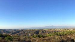 View Inland to Santiago Peak