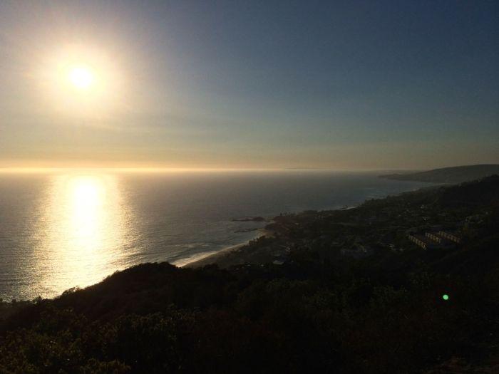 View of Laguna Beach from Aliso Peak