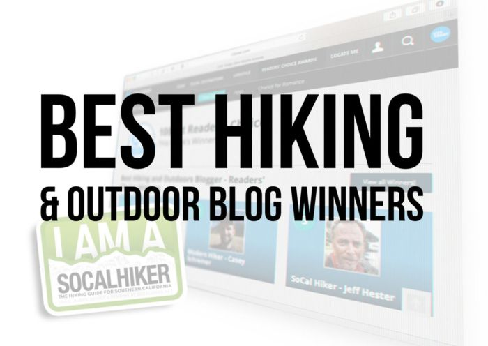 Best Hiking and Outdoor Blog Winners