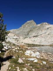 Unnamed Lake south of Muir Pass