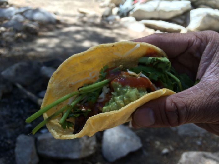 Tacos on the JMT