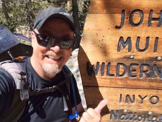 Entering the John Muir Wilderness