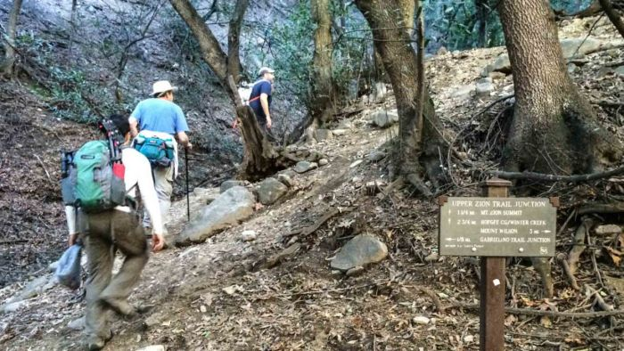 Chantry Flats-Upper Zion Trail Junction -13
