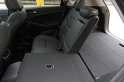 The rear seats fold flat when you need to haul even more gear